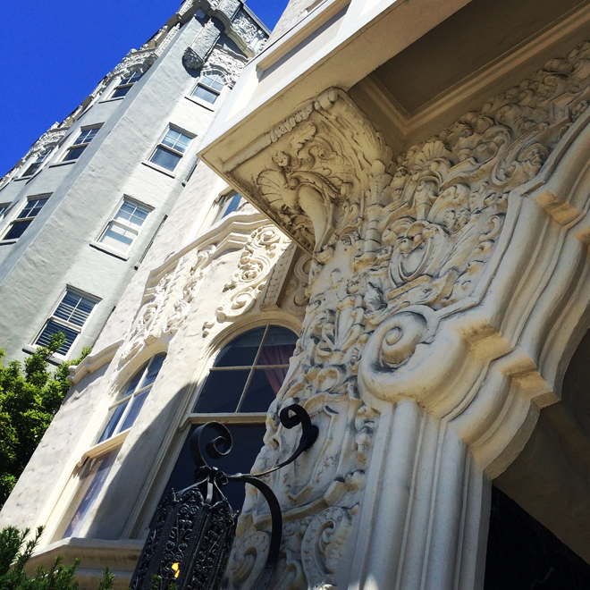Pacific Heights apartment building