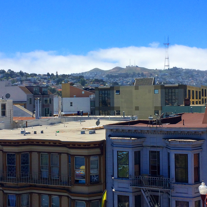 Sutro Tower, Karl the Fog, Twin Peaks
