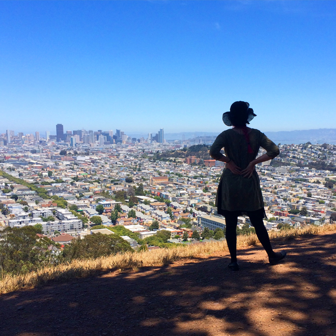 View from the top of Bernal Heights