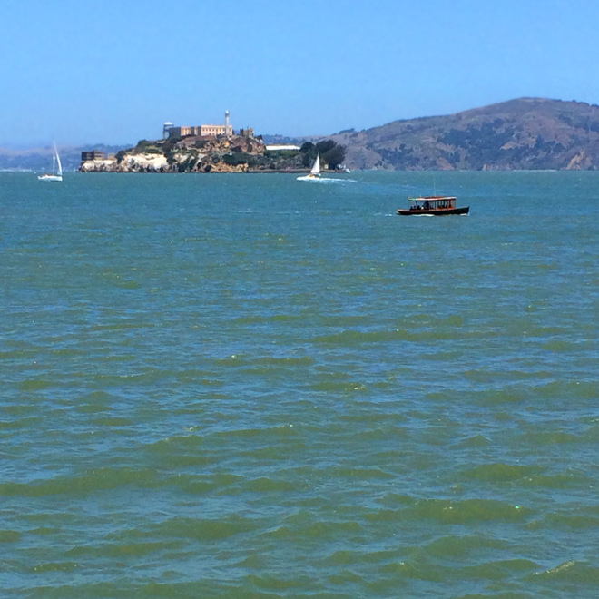 Alcatraz and the San Francisco Bay
