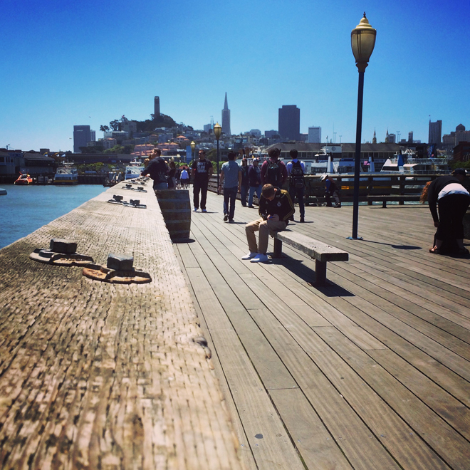 On Pier 41 in San Francisco