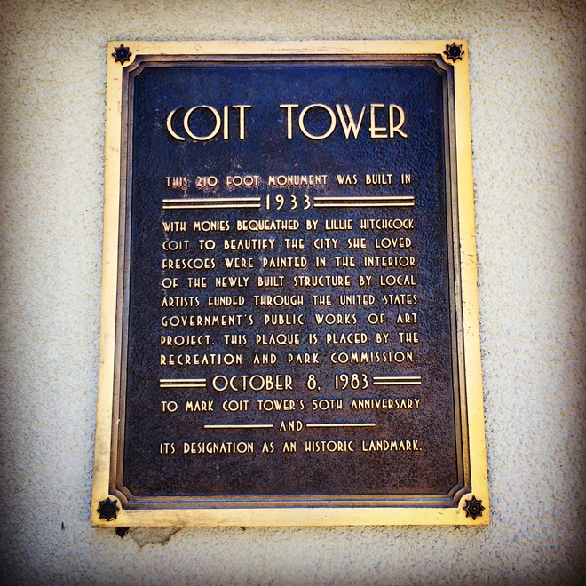Cost Tower sign