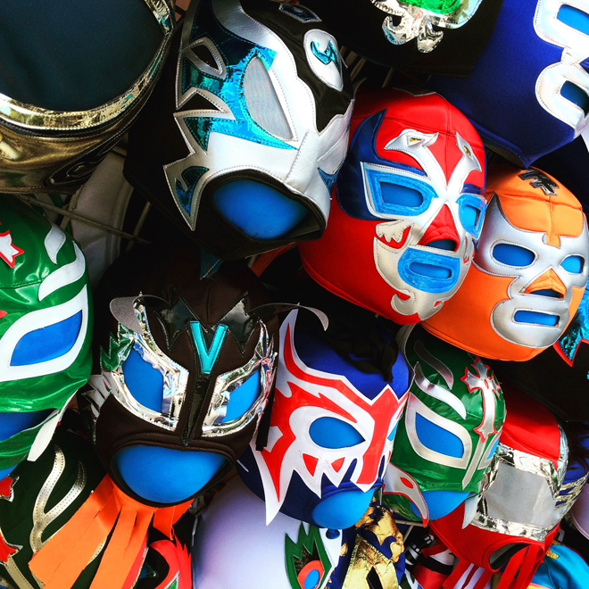 lucha libre masks for sale on 24th street