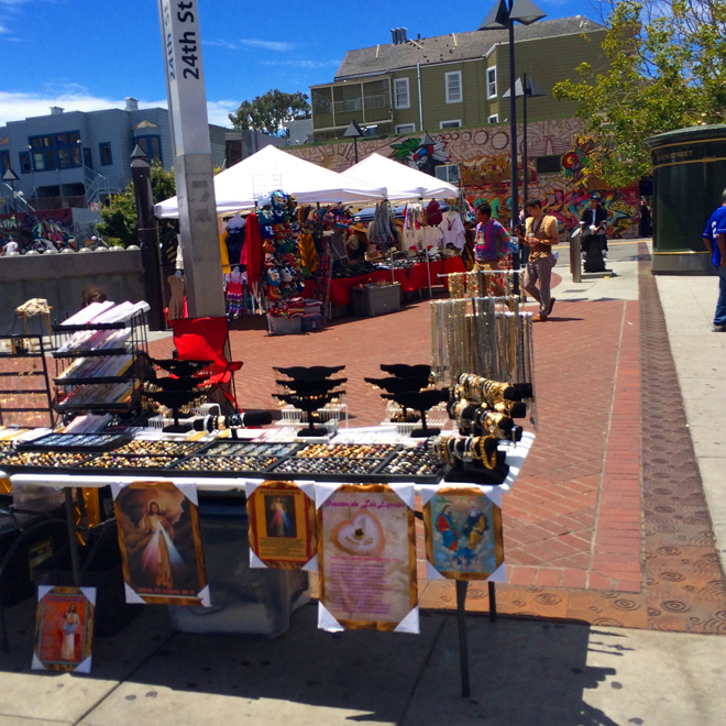 24th Street BART flea market