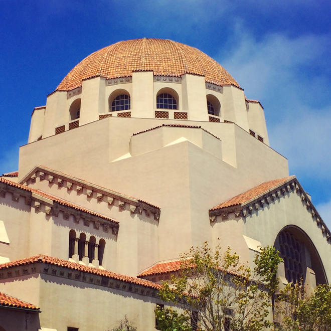 Temple Emanu-El in Presidio Heights