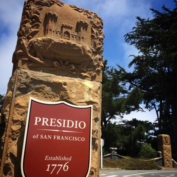 Presidio sign