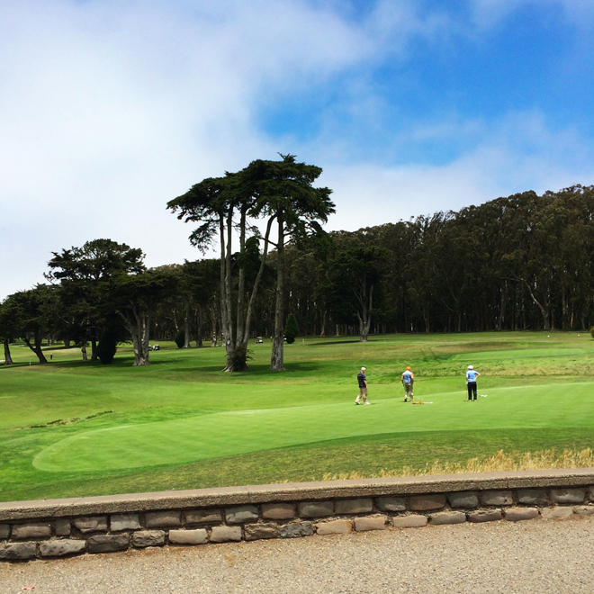 Golf Course in Presidio Heights