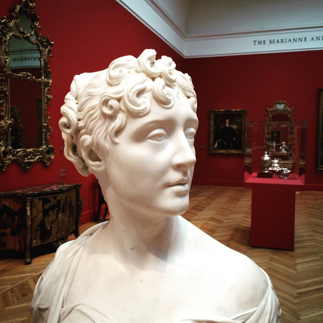 bust at the Legion of Honor