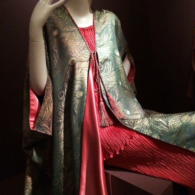 dress at the High Style exhibit at the Legion of Honor