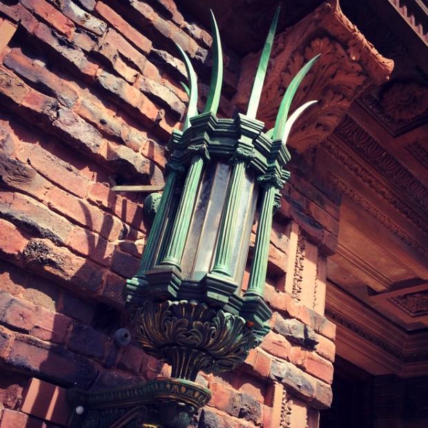 ornate lighting fixture