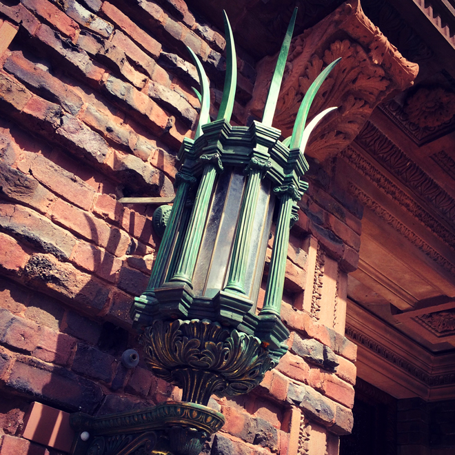 ornate lighting fixture