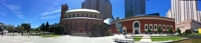 panorama of Yerba Buena Lane