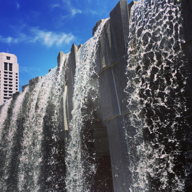 Martin Luther King Memorial Fountains