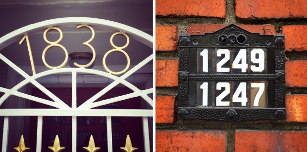 Russian Hill house numbers