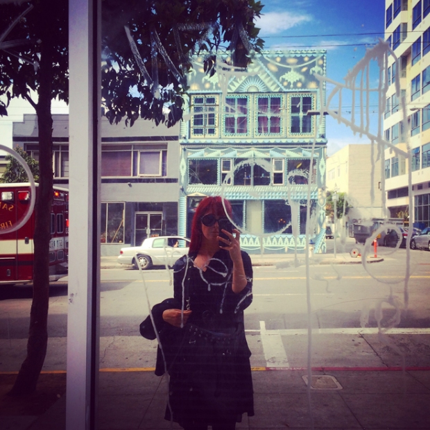 SoMa street reflection