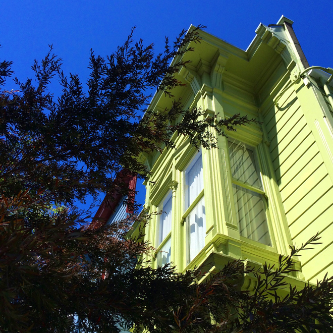 victorian house in the Mission District