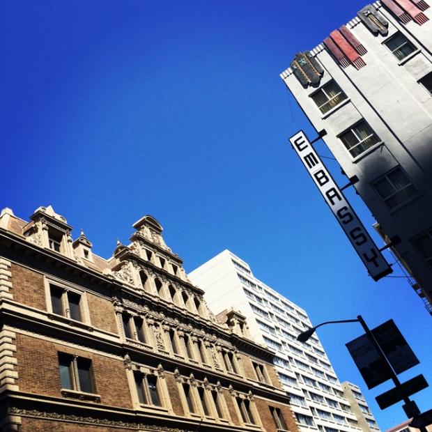 Polk Street architecture