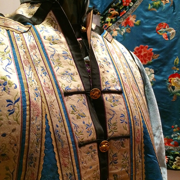 robes at Chinese Historical Society of America Museum