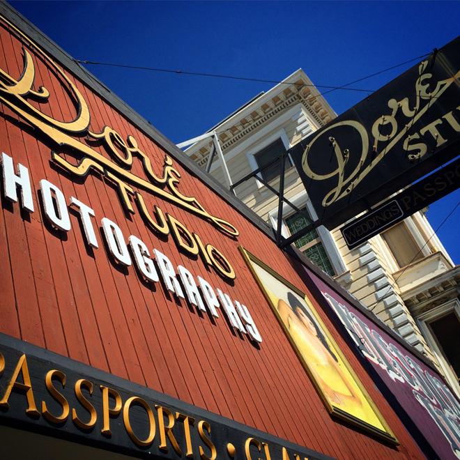 Dore Studio Photography on Mission Street