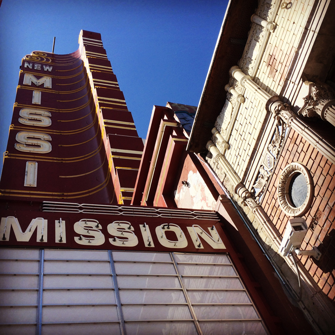 New Mission sign