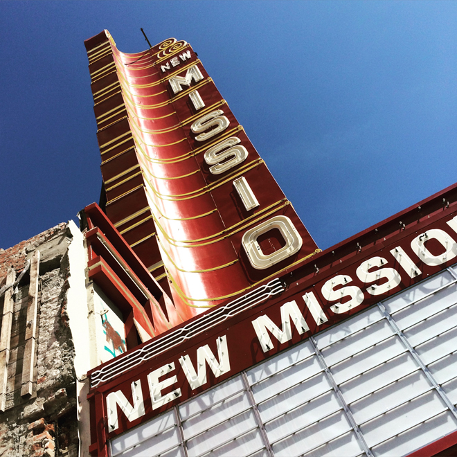 New Mission marquee