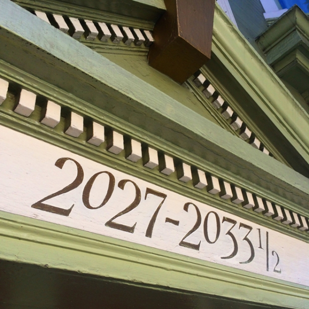 victorian house number in North Beach