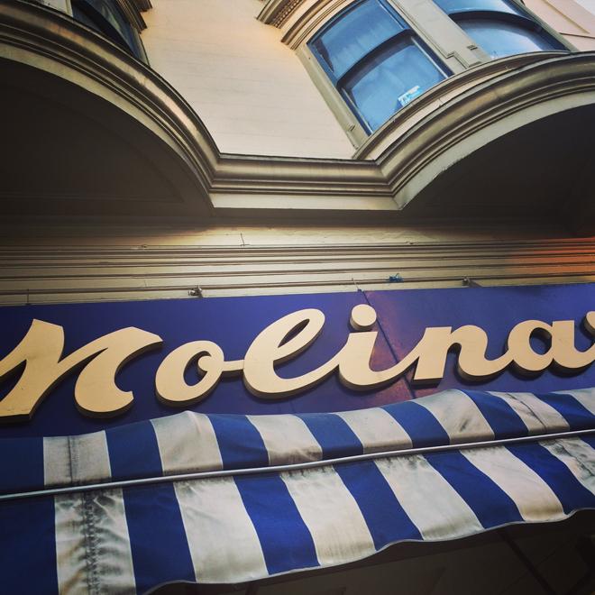 Molinari shop in North Beach