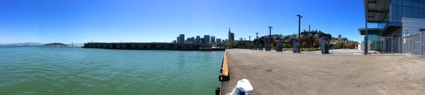 panorama of Pier 27