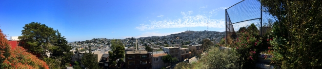 Corona Heights view of Sutro Tower
