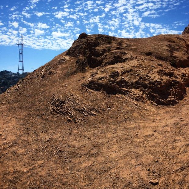 Sutro Tower from Corona Heights