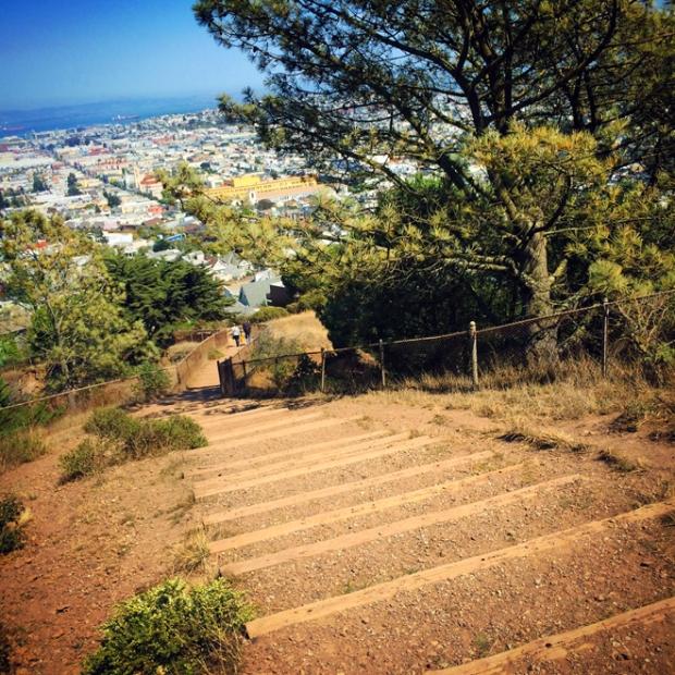 Corona Heights park trail