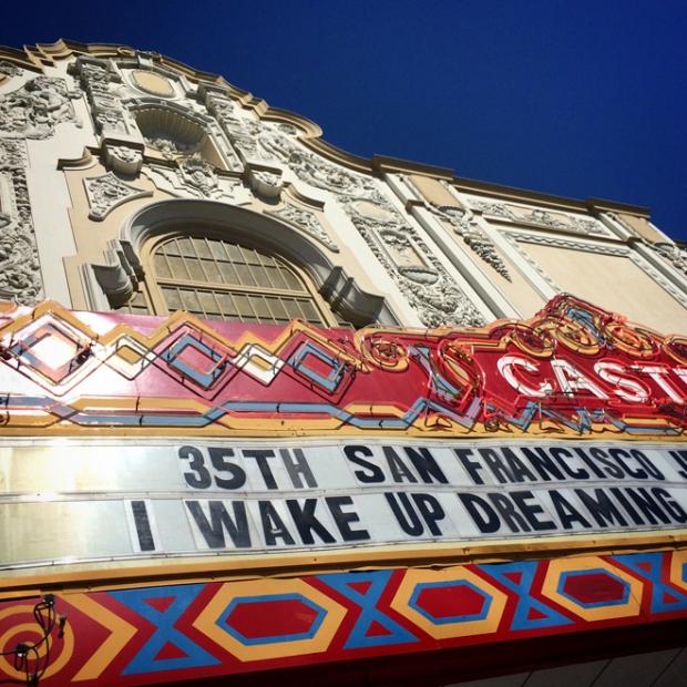 Castro Theatre marquee