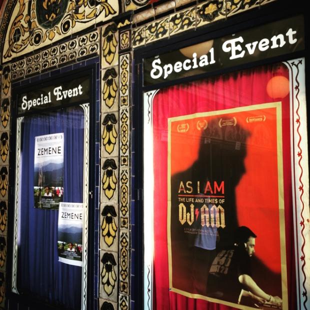Castro Theatre movie posters