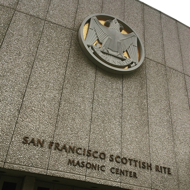 San Francisco Scottish Rite Masonic Center, West Portal, San Francisco