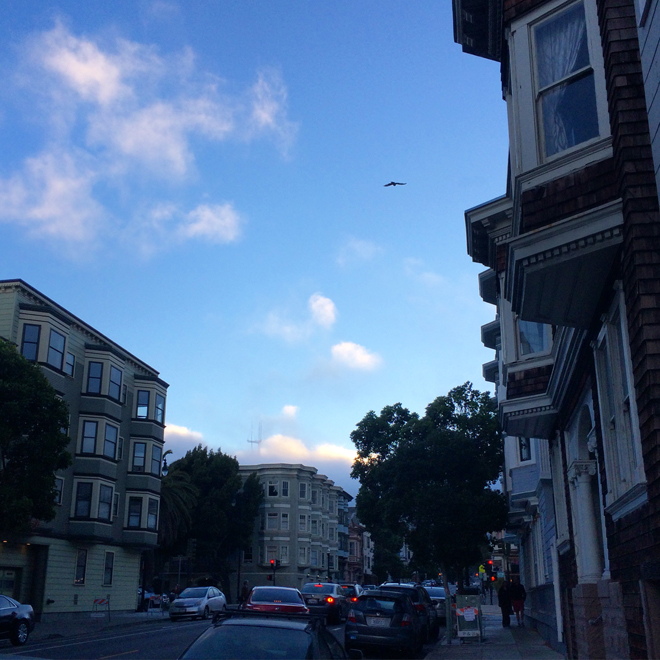 evening in the Mission District